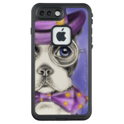 LifeProof® FRĒ® for iPhone® 5/5S/SE Case with Boston Terrier Phone Cases design