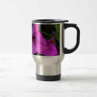 Purple Bougainvillea flower in bloom Travel Mug