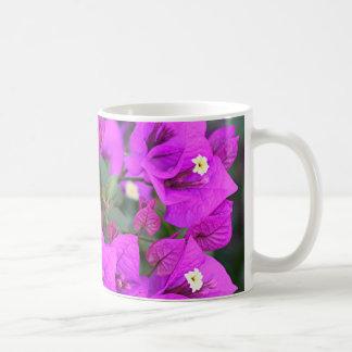 Purple bougainvillea flowers coffee mug