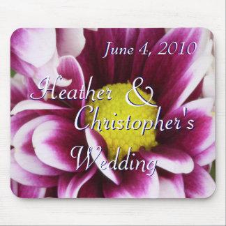 Purple Bouquet Mouse Pad