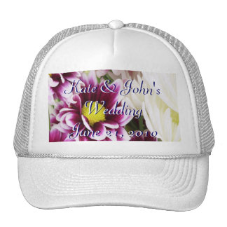 Purple Bouquet Trucker Hat