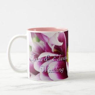 Purple Bouquet Two-Tone Coffee Mug