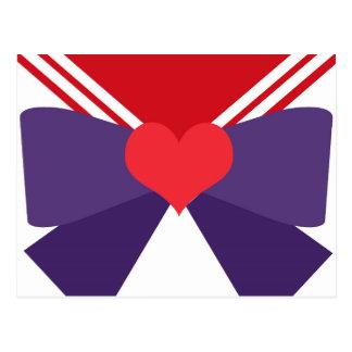 """Purple Bow"" Postcard (7/9)"