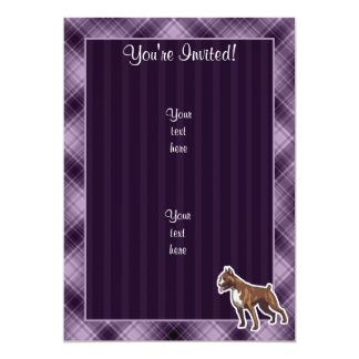 Purple Boxer Card
