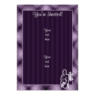 Purple Boxing Card