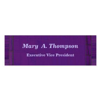 Purple Brick design Business Card Templates