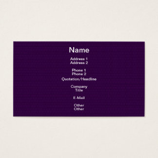 Purple Brick Designer Faux Finish Business Card