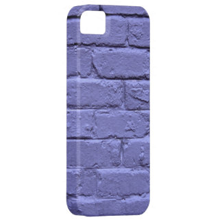 Purple Brick Wall iPhone 5 Covers