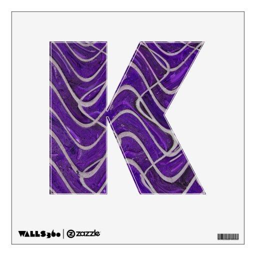 purple bricks abstract pattern wall skins