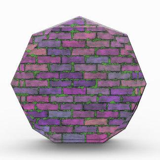 Purple Bricks Acrylic Award