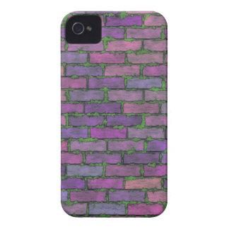 Purple Bricks iPhone 4 Cover