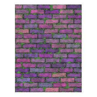 Purple Bricks Postcard