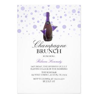 116 champagne brunch invitations champagne brunch for Champagne brunch bridal shower