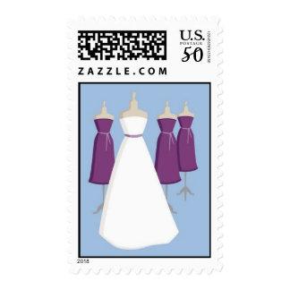 Purple Bride Postage