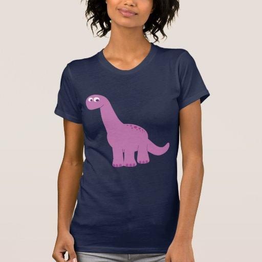 Purple Brontosaurus Dinosaur Shirt