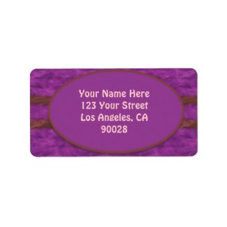 purple brown texture labels