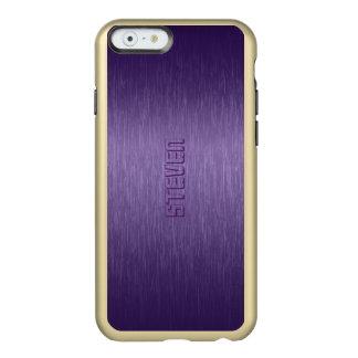 Purple Brushed Aluminum Look Incipio Feather® Shine iPhone 6 Case