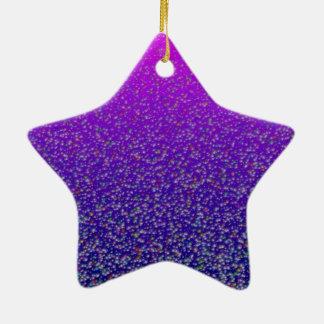 Purple Bubble Star >Xmas Ornament