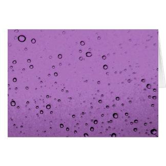 Purple Bubbles Card