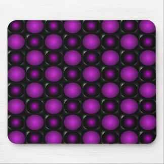 Purple Bubbles ChessBoard CricketDiane Design Mouse Pad