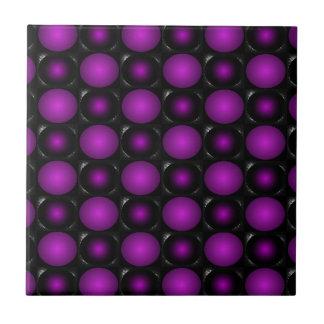 Purple Bubbles ChessBoard CricketDiane Design Tile