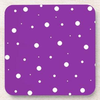 Purple Bubbles Coaster