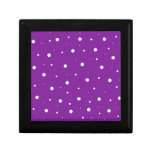 Purple Bubbles Jewelry Box