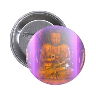 purple buddha button