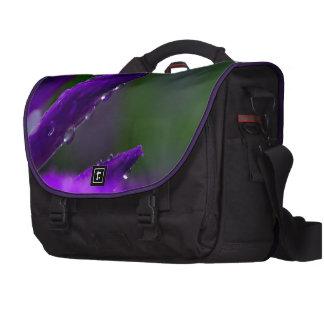 Purple Buds Computer Bag