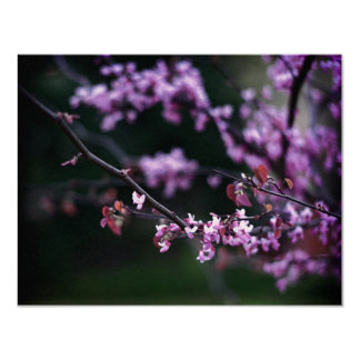 Purple Buds Invitation
