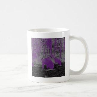 Purple Buffalo Coffee Mug
