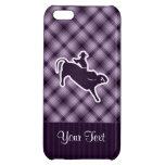 Purple Bull Rider iPhone 5C Covers