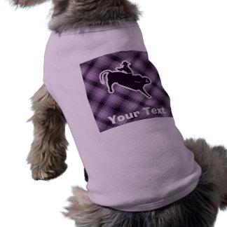 Purple Bull Rider Shirt
