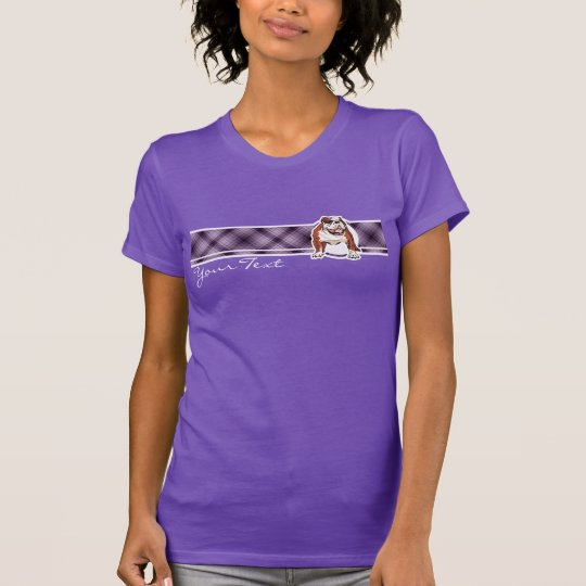 Purple Bulldog T-Shirt