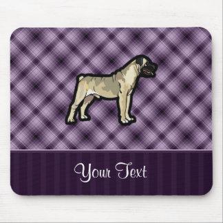 Purple Bullmastiff Mouse Pad