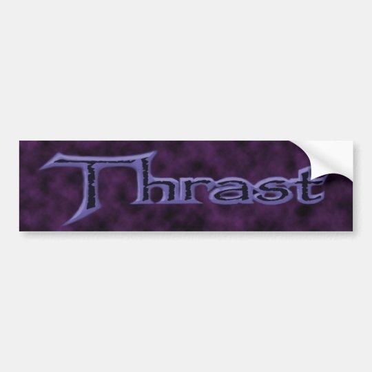 Purple Bumper Sticker