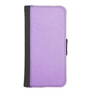 Purple Bumpy Texture iPhone 5/5S Wallet Case iPhone 5 Wallet