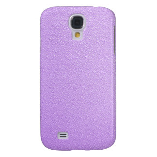 Purple Bumpy Texture Samsung Galaxy S4 Case