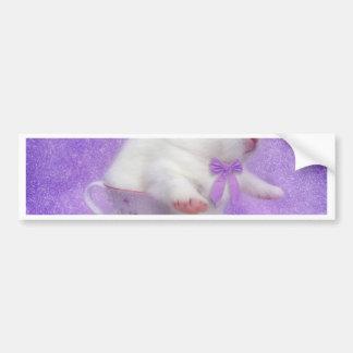 Purple Bundle Of Joy Bumper Sticker