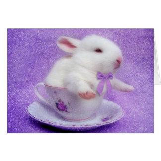 Purple Bundle Of Joy Card