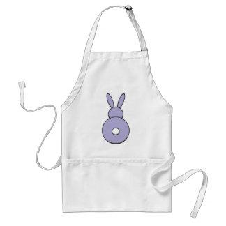 Purple Bunny Apron