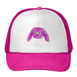 Purple Bunny Critter Trucker Hat