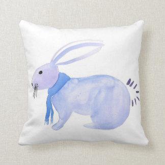 Purple Bunny Pillow