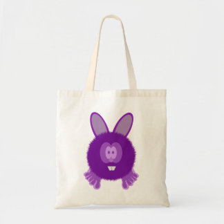 Purple Bunny Pom Pom Pal Bag