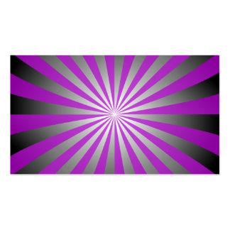 Purple burst Double-Sided standard business cards (Pack of 100)