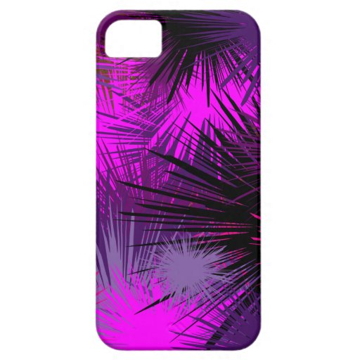 Purple Burst Of Color iPhone 5 Cover