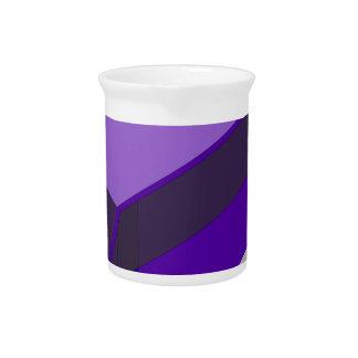 Purple Bus Beverage Pitcher