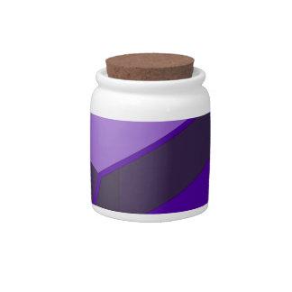 Purple Bus Candy Jars