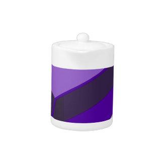 Purple Bus Teapot