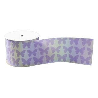Purple Buttefly Ribbon